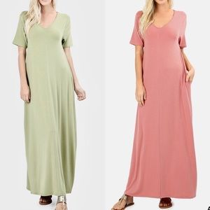 SCOTTIE Maxi Dress - SAGE